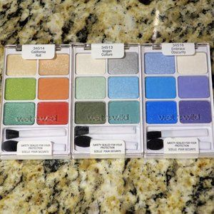 x3 Wet n Wild ColorIcon Eyeshadow Palette Lot